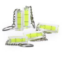 5x Mini-Wasserwaage aus Acrylglas mit Schlüsselanhänger – Bild 6