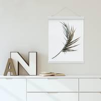 Posterleiste in Weiss 22 cm Magnetische Poster-Hänger / Posterhalter / Posterschiene – Bild 4