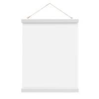Posterleiste in Weiss 22 cm Magnetische Poster-Hänger / Posterhalter / Posterschiene – Bild 6