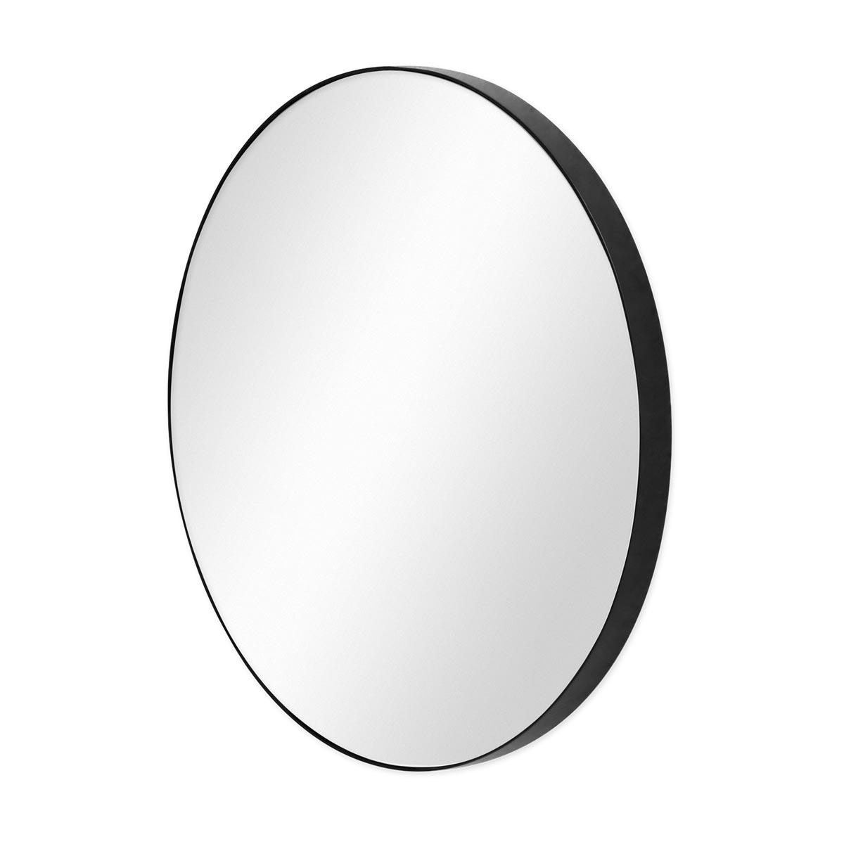 Spiegel Rund Schwarz Mit Metall Rahmen 50 Cm Durchmesser