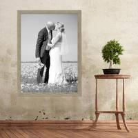 Vintage Bilderrahmen Landhaus-Stil Rustikal Grau – Bild 5