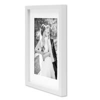 5er Bilderrahmen-Set Schwarz-Weiss 15x20 bis 40x50 cm inkl. Zubehör | Bildergalerie | Bilderwand | Wandgalerie – Bild 5