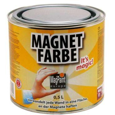 Magnetfarbe MagPaint 1,0 l Magnetische Wandfarbe für Magnettafel oder Magnetboard