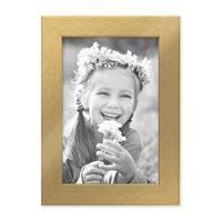8er-Set Bilderrahmen Gold Modern Massivholz-Rahmen, je 2 mal 10x10, 10x15, 20x20 und 20x30 cm, inkl. Zubehör, zur Gestaltung einer Bilderwand oder Fotowand / Fotorahmen  – Bild 6