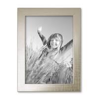 2er Set Bilderrahmen 13x18 cm Silber Modern Massivholz-Rahmen mit Glasscheibe inkl. Zubehör / Fotorahmen  – Bild 6