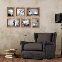 6er-Set Bilderrahmen Gold Barock Antik 15x20, 20x20 und 20x30 cm inkl. Zubehör Fotorahmen / Barock-Rahmen  – Bild 6