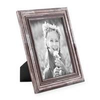 5er-Set Bilderrahmen Silber Barock Antik 10x10, 10x15, 13x18 und 15x20 cm inkl. Zubehör Fotorahmen / Barock-Rahmen  – Bild 5