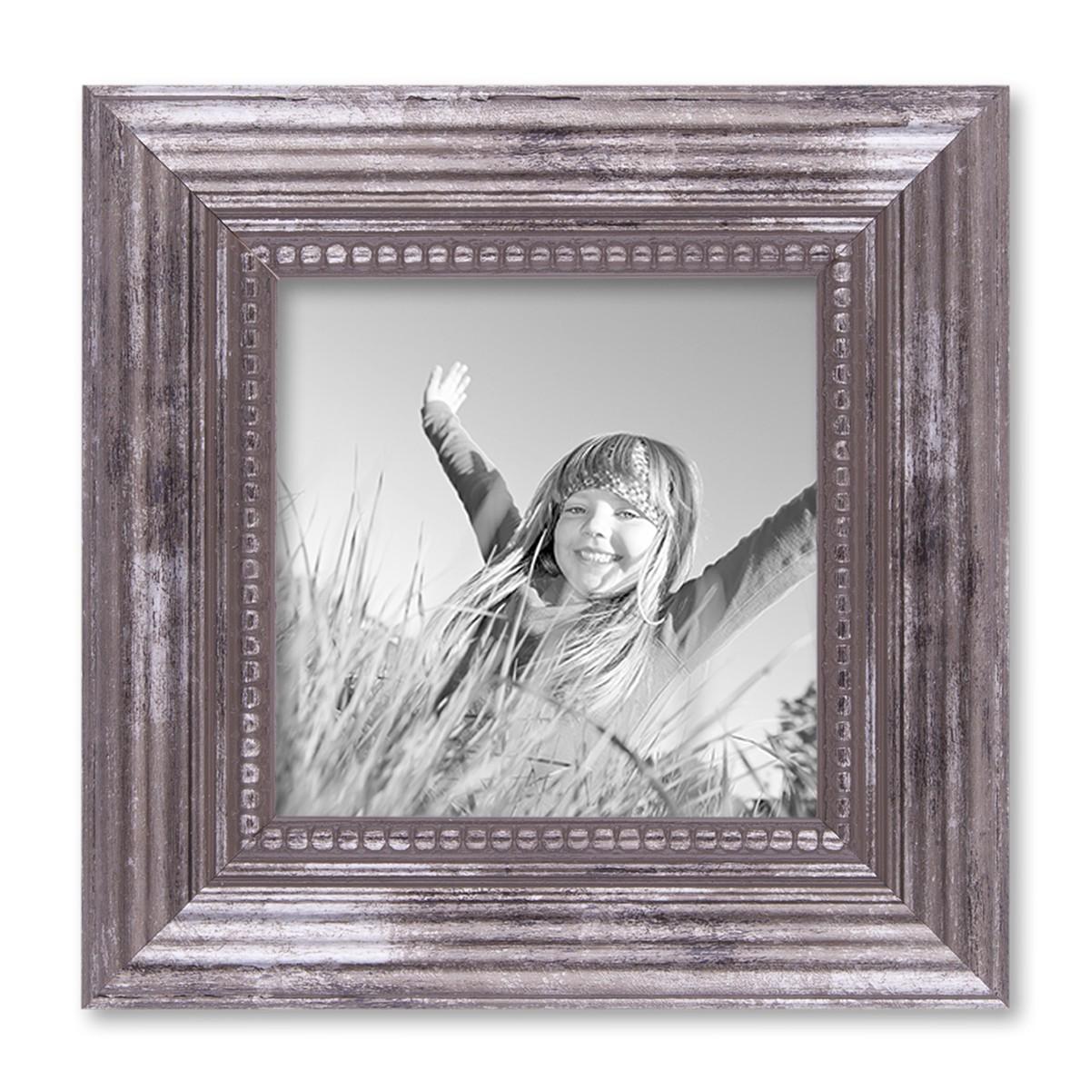 6er-set bilderrahmen silber barock antik 15x20, 20x20 und 20x30 cm