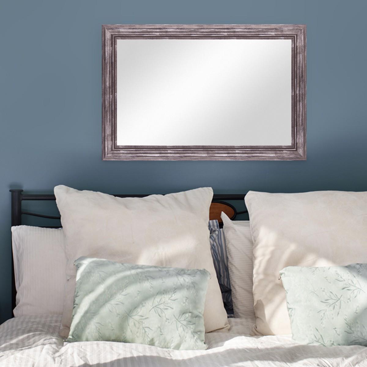 Relativ Wand-Spiegel 60x70 cm im Massivholz-Rahmen Barock-Stil Antik  VE81
