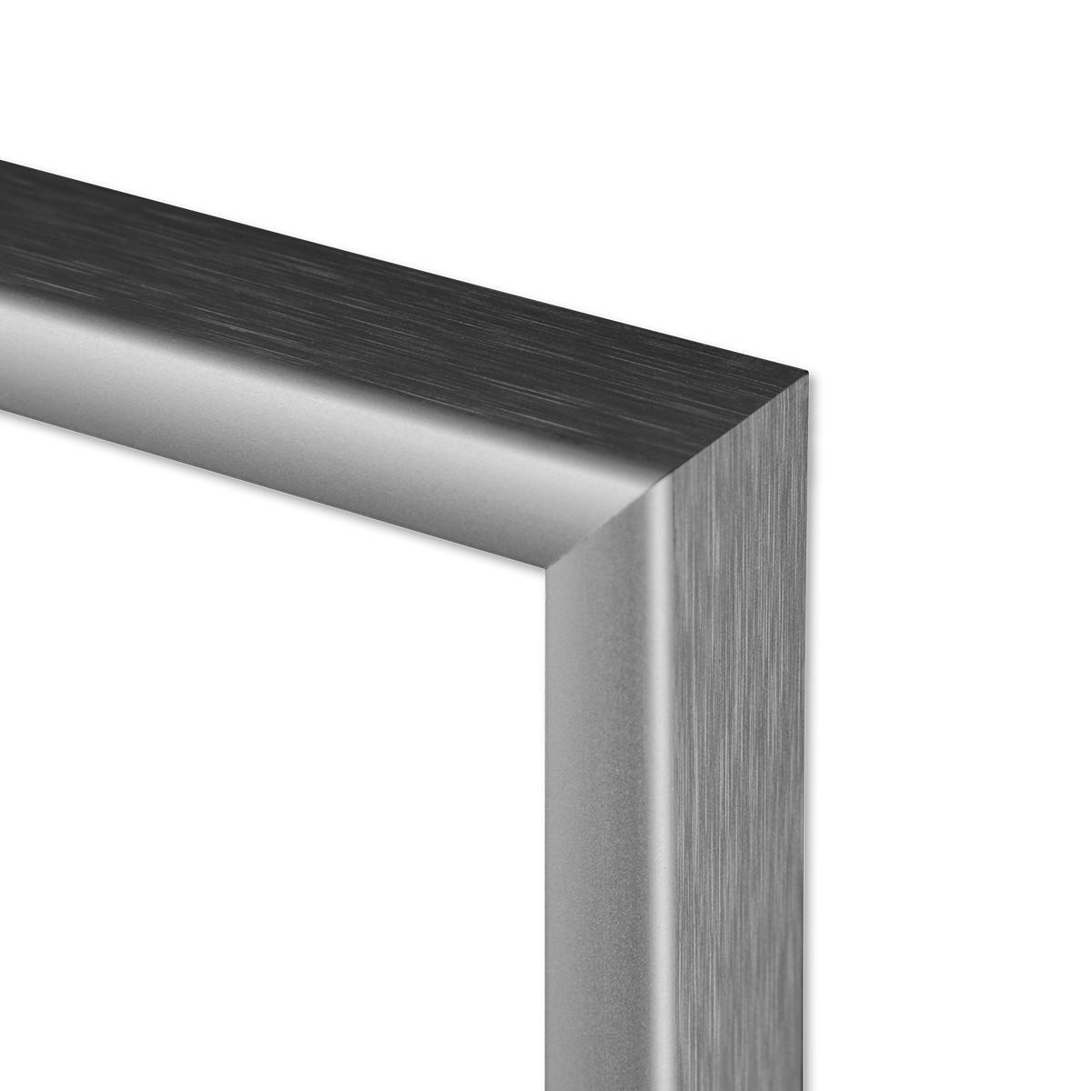 alu bilderrahmen 20x30 cm aluminium rahmen silber matt mit glasscheibe inkl zubeh r rahmen gr e. Black Bedroom Furniture Sets. Home Design Ideas