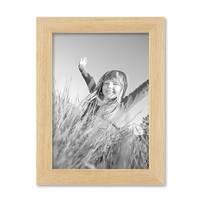 Bilderrahmen 13x18 cm Kiefer Natur Modern Massivholz-Rahmen mit Glasscheibe und Zubehör / Fotorahmen  – Bild 3