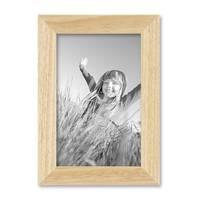 2er Set Bilderrahmen 10x15 cm Kiefer Natur Modern Massivholz-Rahmen mit Glasscheibe und Zubehör / Fotorahmen  – Bild 7