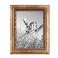 Bilderrahmen 15x20 cm Gold Barock Antik Massivholz mit Glasscheibe und Zubehör / Fotorahmen / Barock-Rahmen  – Bild 3