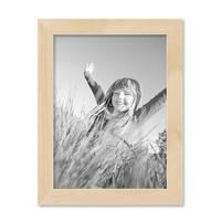 2er Set Bilderrahmen 15x20 cm Kiefer Natur Modern Massivholz-Rahmen mit Glasscheibe und Zubehör / Fotorahmen  – Bild 7