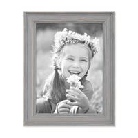 3er Set Bilderrahmen Skandinavischer Landhaus-Stil Grau-Braun 15x20 cm Massivholz mit Shabby-Chic Note / Fotorahmen / Wechselrahmen – Bild 7