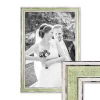 Bilderrahmen 30x42 cm / DIN A3 Pastell Vintage Look Hellgrün