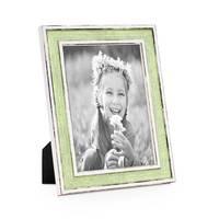 3er Set Bilderrahmen Pastell / Alt-Weiß Hellgrün 18x24 cm Massivholz mit Vintage Look / Fotorahmen / Wechselrahmen – Bild 2