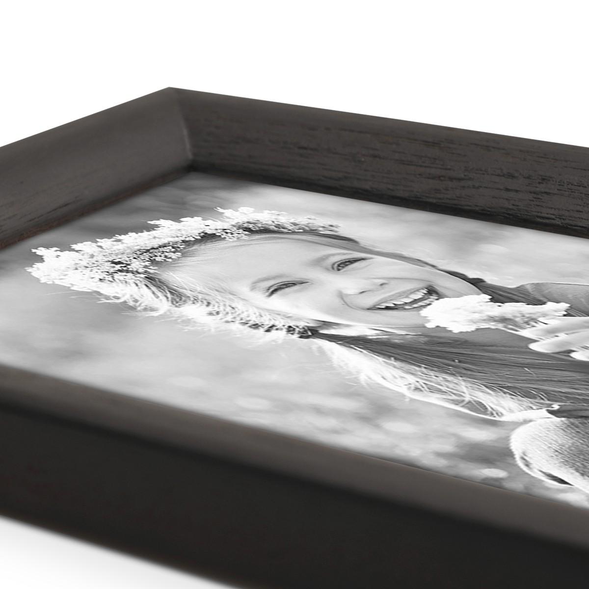 Bilderrahmen Landhaus Stil Schwarz 10x15 Cm Holz Rahmen / Fotorahmen /  Portraitrahmen U2013 Bild