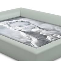 Bilderrahmen Landhaus-Stil Grau 15x20 cm Holz-Rahmen / Fotorahmen / Portraitrahmen  – Bild 3