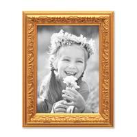 2er Set Bilderrahmen Antik Gold Nostalgie 10x15 cm Fotorahmen mit Glasscheibe / Kunststoff-Rahmen – Bild 7