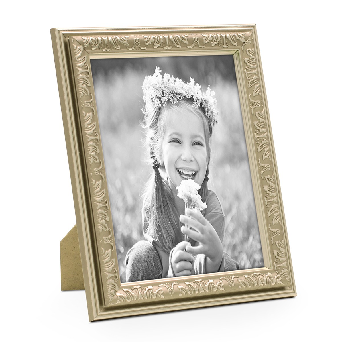 Bilderrahmen Antik Silber Nostalgie 10x15 cm Fotorahmen mit ...