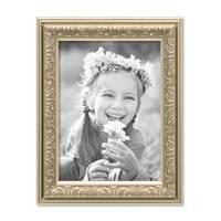 2er Set Bilderrahmen Antik Silber Nostalgie 13x18 cm Fotorahmen mit Glasscheibe / Kunststoff-Rahmen – Bild 6