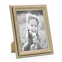 2er Set Bilderrahmen Antik Silber Nostalgie 15x20 cm Fotorahmen mit Glasscheibe / Kunststoff-Rahmen – Bild 3