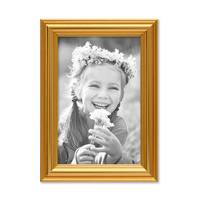 3er Set Bilderrahmen Gold Barock Antik 10x15 cm Fotorahmen mit Glasscheibe / Kunststoffrahmen – Bild 4
