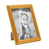 3er Set Bilderrahmen Gold Barock Antik 10x15 cm Fotorahmen mit Glasscheibe / Kunststoffrahmen – Bild 2