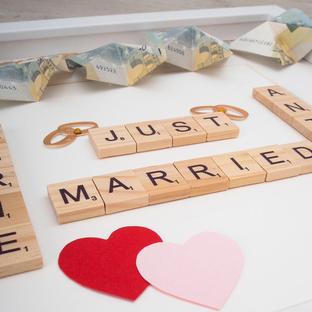 Geldgeschenke Im Objektrahmen 3d Rahmen Geschenke Hochzeitsgeschenke