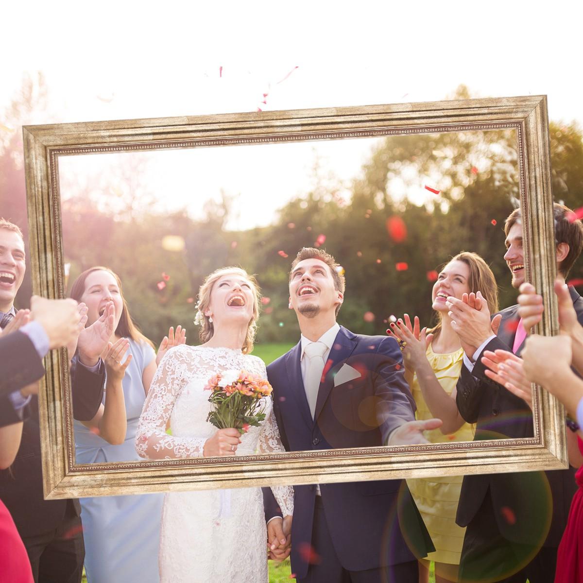 Hochzeits-Bilderrahmen Geschenke Hochzeitsgeschenke