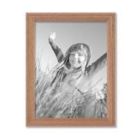 Landhaus-Bilderrahmen 15x20 cm Eiche-Optik Massivholz mit Glasscheibe und Zubehör / zum Stellen oder Hängen / Fotorahmen  – Bild 5