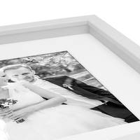 B-Ware: 3D Bilderrahmen Objektrahmen 3D-Rahmen 15x20 cm Weiss Modern Tief MDF-Rahmen mit Passepartout / 170-01 – Bild 3