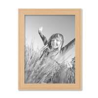 3er Set Landhaus-Bilderrahmen 18x24 cm Holz Natur Massivholz mit Glasscheibe und Zubehör / Fotorahmen  – Bild 5
