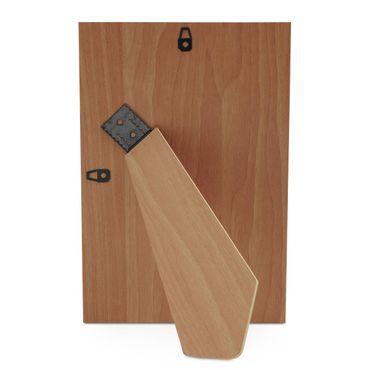 Holz-Rückwand für Bilderrahmen 20x30 cm mit verstellbarem Aufsteller inkl. Aufhänger