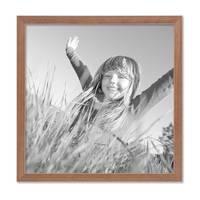 5er Set Landhaus-Bilderrahmen 30x30 cm Eiche-Optik Massivholz mit Glasscheibe und Zubehör / Fotorahmen  – Bild 4
