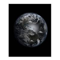 Poster 'Erde' 40x50 cm Motiv Welt Weltraum Satellitenbild – Bild 2