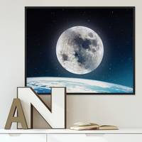 Poster 'Nightly Sky' 40x50 cm Motiv Welt Mond Erde All