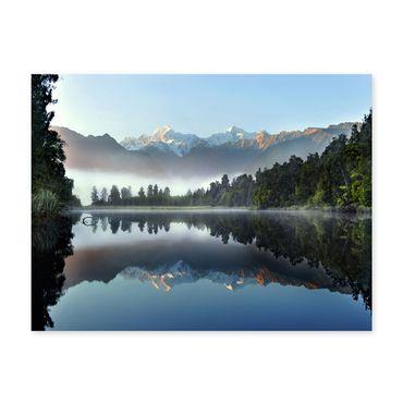 Poster 'See' 30x40 cm Motiv Natur Landschaft Wasser Foto