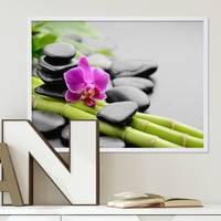 Poster 'Spa' 30x40 cm Motiv Wellness Zen Steine Foto – Bild 2