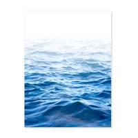 Poster 'Wasser' 30x40 cm Motiv Meer See Welle Natur Foto Maritim