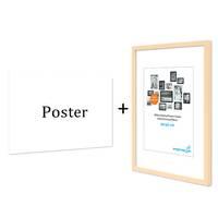 Poster mit Bilderrahmen Natur 'Home' 30x40 cm Motiv Landhausstil Wandbild Foto – Bild 4