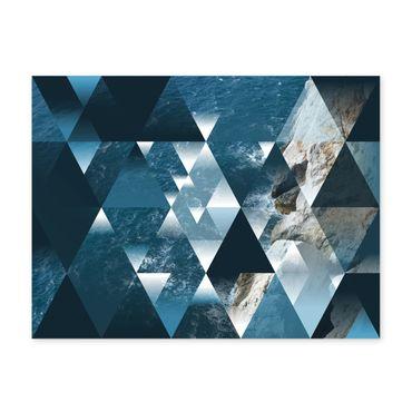 Design-Poster 'Sea' 30x40 cm Motiv See Ozean Abstrakt Landschaft