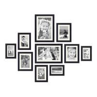10er Set Passepartouts Weiß (je 2x für Rahmen 10x15, 13x18, 15x20, 18x24 und 21x30 cm) – Bild 2
