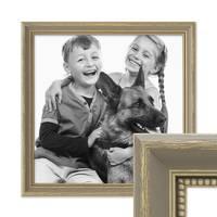 Bilderrahmen 50x50 cm Grau Shabby-Chic Landhaus-Stil