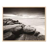 Poster 'Küste' 40x50 cm schwarz-weiss Motiv Natur Landschaft Maritim – Bild 6