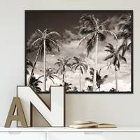 Poster Palmen unter kalifornischem Himmel 40x50 cm Motiv Natur