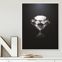 Design-Poster 'Diamant' 40x50 cm Motiv Abstrakt – Bild 1