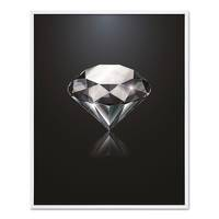 Design-Poster 'Diamant' 40x50 cm Motiv Abstrakt – Bild 5