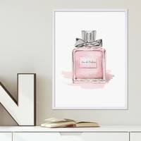 Design-Poster Perfume 30x40 cm Motiv Mode Dekoration Parfüm Edel